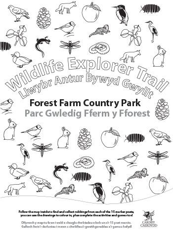 Wildlife Explorer Trails - Fforest Farm trail