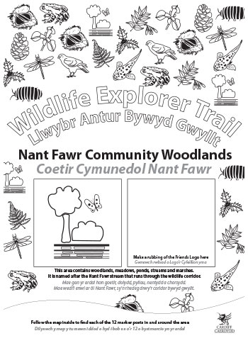 Wildlife Explorer Trails - Nant Fawr