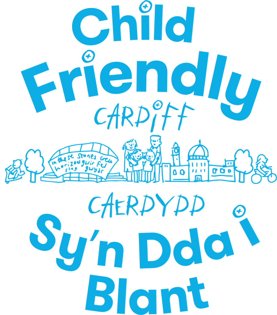 Child Friendly Cardiff logo