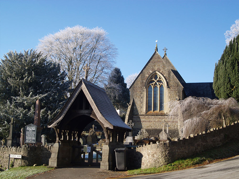 St. Catwg Church in Pentyrch
