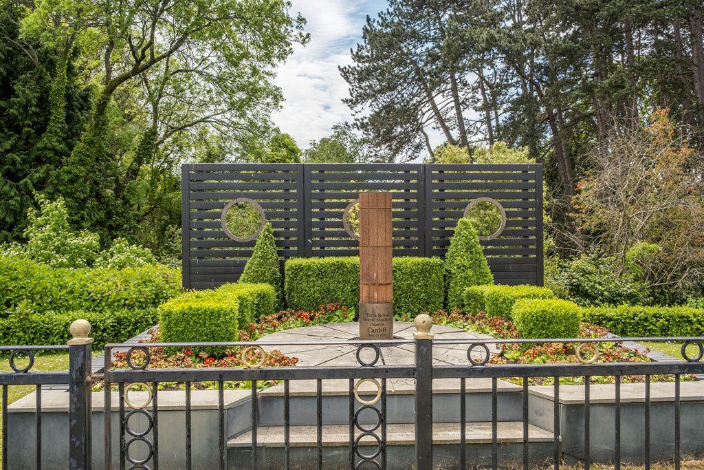 Roath park memorial garden