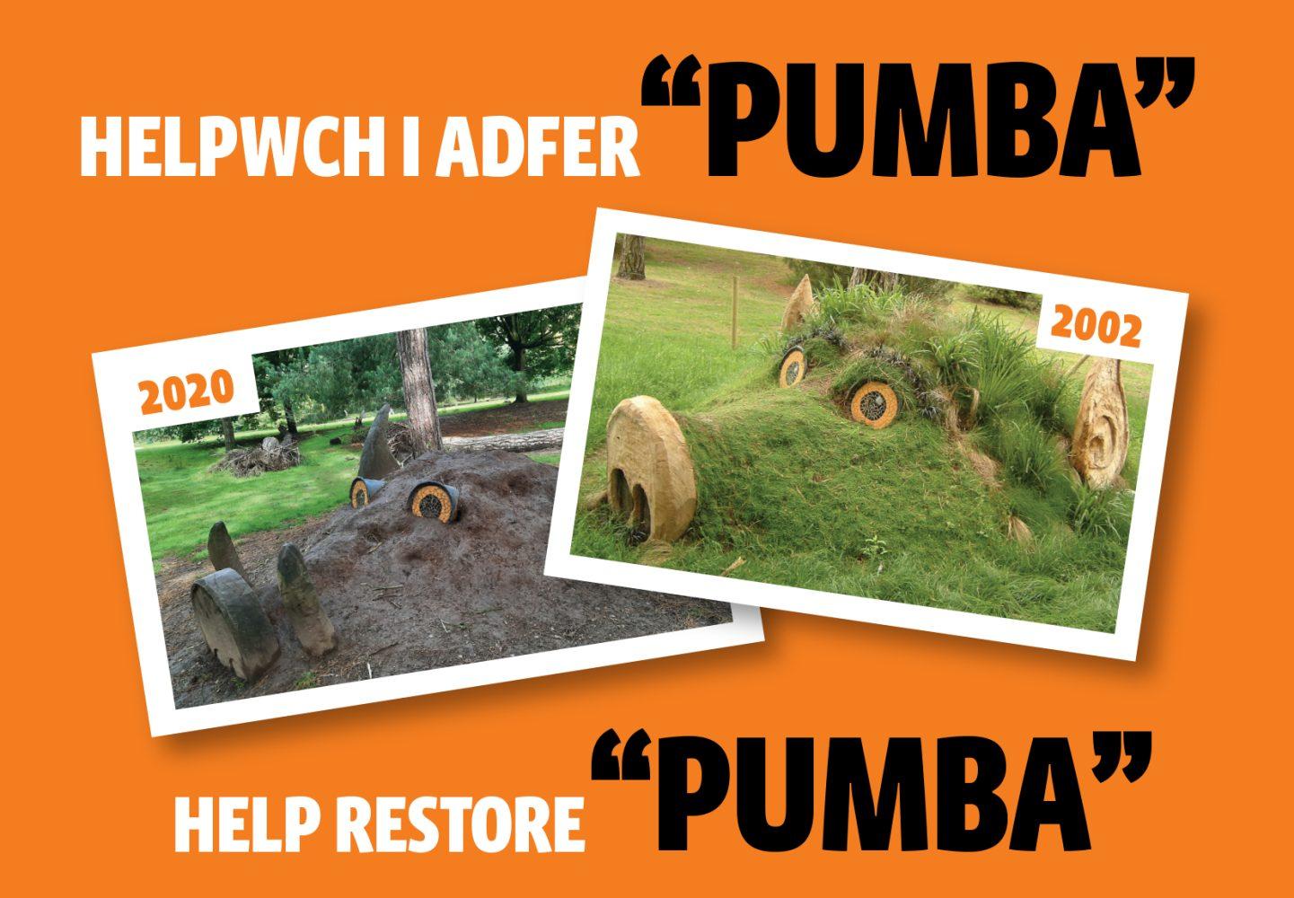 "Help restore ""Pumba""!"